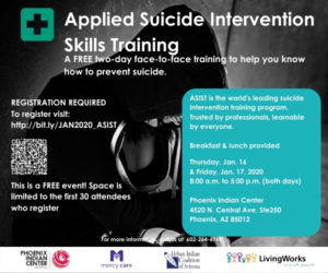 Applied Suicide Intervention Skills Training (ASIST) @ Phoenix Indian Center