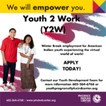 Youth 2 Work (Y2W) Internship Program!