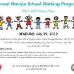 Navajo School Clothing Program