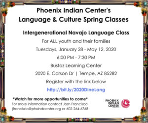 Intergenerational Navajo Language Class @ Bustoz Learning Center