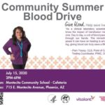 Community Summer Blood Drive