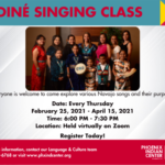 Diné Singing Classes